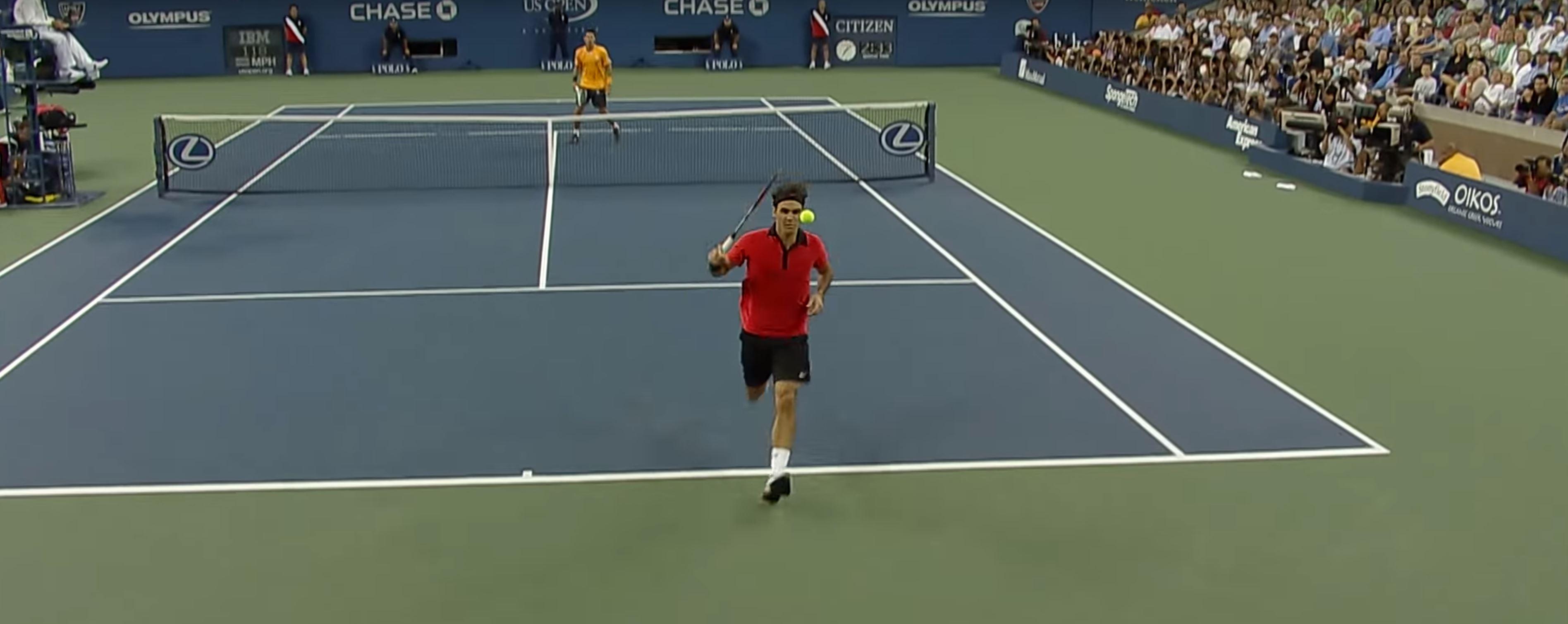Best tennis shot ever