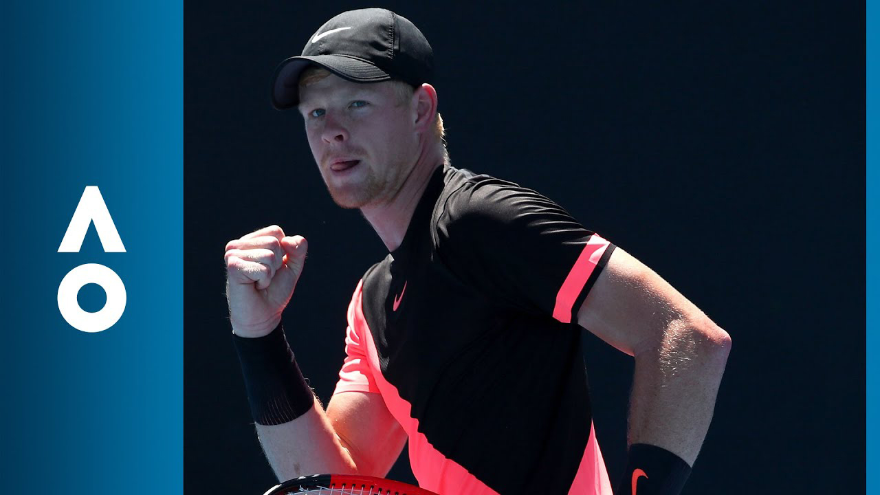 Kyle Edmund win Australian Open