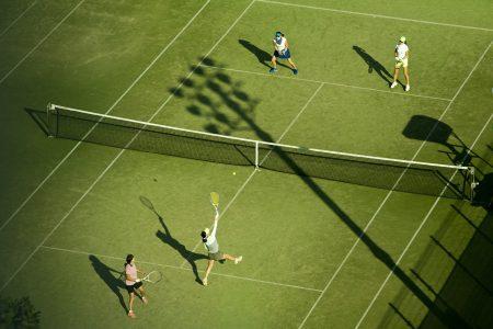get better at tennis